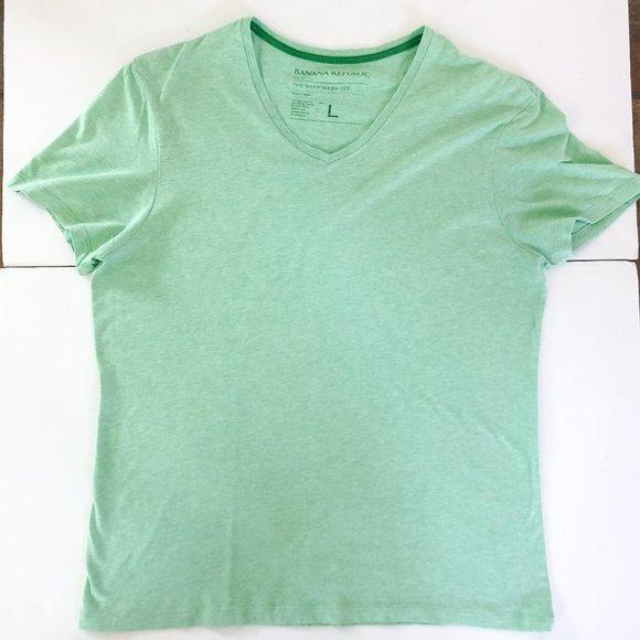 Banana Republic Other - Banana Republic Green V-Neck T-Shirt